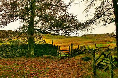 Farmhouse Rights Managed Images - The Mist Approaches Royalty-Free Image by Hux Huxley