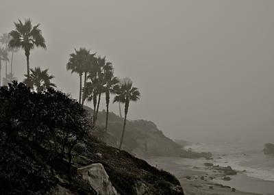 The Mists Of Laguna Beach Art Print by Kirsten Giving