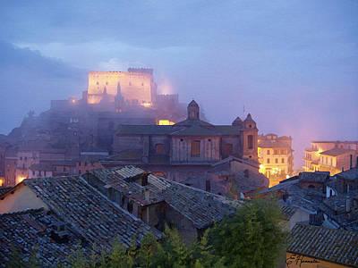 The Mists Of Soriano Art Print by Ellen Henneke