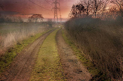 Photograph - The Misty Path by Jean-Noel Nicolas