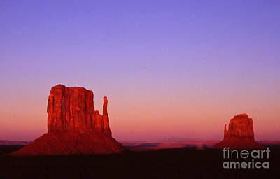 Landscape Photos Chad Dutson - The Mittens at sunset Monument Valley by Alex Cassels