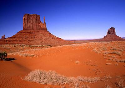 The Mittens Monument Valley Arizona Art Print