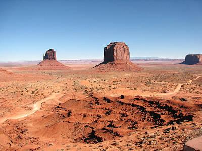 Photograph - The Mittens Utah by Susan Leonard