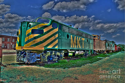 Caboose Photograph - The Mkt by Hilton Barlow