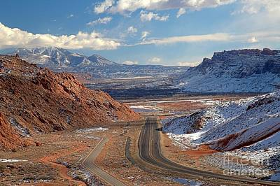 Photograph - The Moab Fault by Adam Jewell