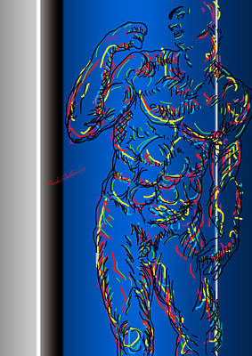 Human Beings Digital Art - The Modern Man  by Mark Ashkenazi