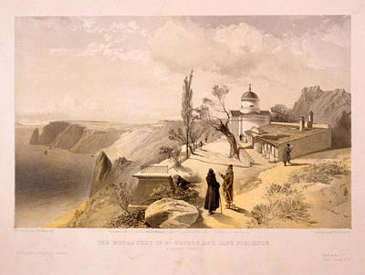 The Monastery Of St. George And Cape Fiolente Art Print by Litz Collection