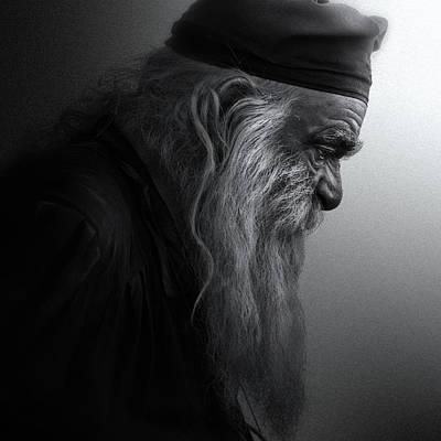 Buddhist Photograph - The Monk by Robert Semnic