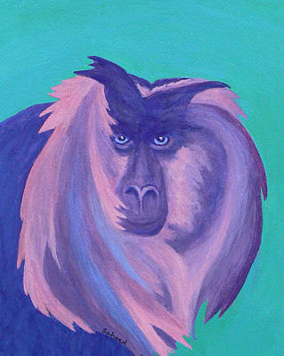 Painting - The Monkey's Mane by Margaret Saheed