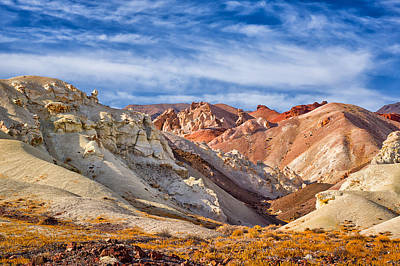 Art Print featuring the photograph The Monte Cristos Central Nevada by Janis Knight