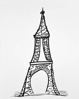 The Monument Art Print by Janelle Yeager