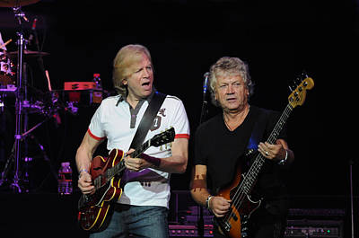 The Moody Blues Justin Hayward And John Lodge 8-8-2009 Art Print