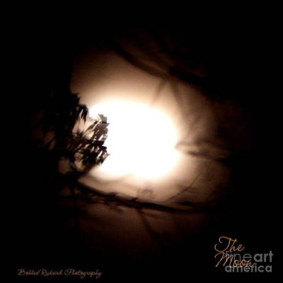 Photograph - The Moon by Bobbee Rickard