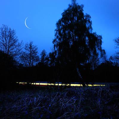 Photograph - The Moon by Mariusz Zawadzki