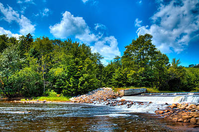 New York Photograph - The Moose River's Lock And Dam by David Patterson