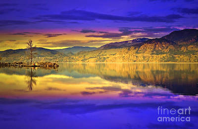 Skaha Lake Photograph - The Morning Glow by Tara Turner