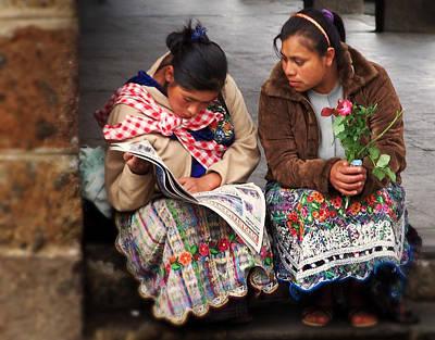 Ramon Fernandez Photograph - The Morning News by Ramon Fernandez