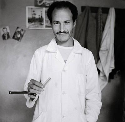 The Moroccan Barber Art Print