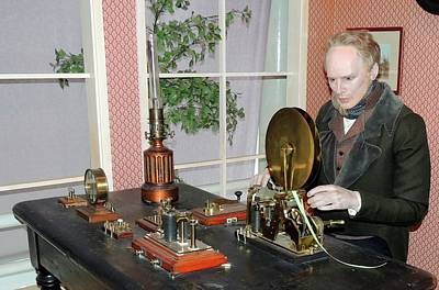 1850s Photograph - The Morse Telegraphic Apparatus by Universal History Archive/uig