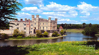 Photograph - The Most Romantic Castle In England by MaryJane Armstrong
