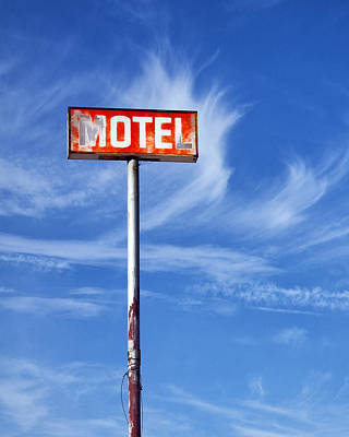 Motel California Palm Springs Art Print
