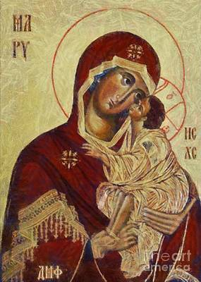 The Mother Of God -the Don Icon Original