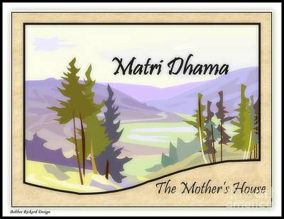 Digital Art - The Mothers House by Bobbee Rickard
