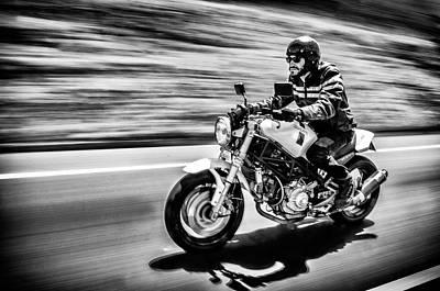 Riding Wall Art - Photograph - The Motorcycle Diaries by Alejandro Fern??ndez Mu??oz