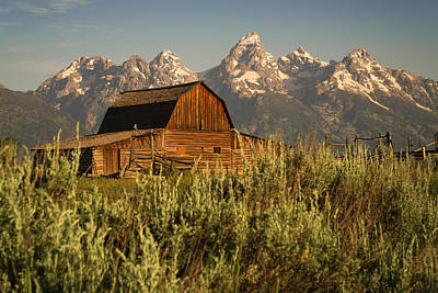 Teton Wall Art - Photograph - The Moulton by Kristopher Schoenleber