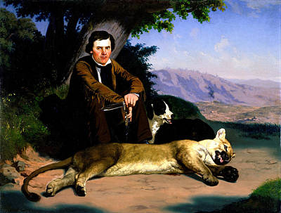Charles Digital Art - The Mountain Lion by Charles Nahl
