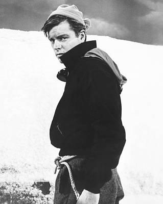 The Mountain, Robert Wagner, 1956 Art Print by Everett