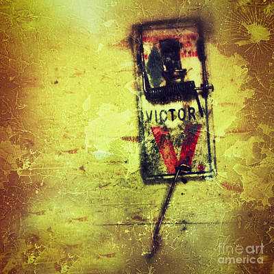 Mouse Digital Art - The Mousetrap by Amy Cicconi