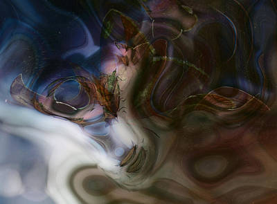 Digital Art - The Moutain Goddess And Her Love Of Boats by Richard Thomas