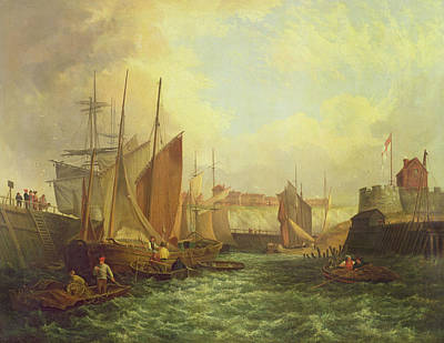 River Scenes Painting - The Mouth Of The Yare, 1821 by George Vincent