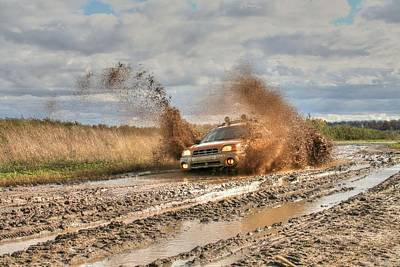 The Mud Is Flying Art Print