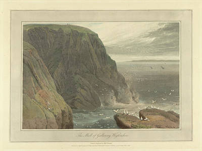 Landscape Of The Year Photograph - The Mull Of Galloway In Wigtonshire by British Library