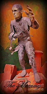 Art In Halifax Digital Art - The Mummy by John Malone