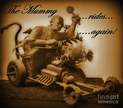 Halifax Art Work Digital Art - The Mummy Rides In Halifax by John Malone