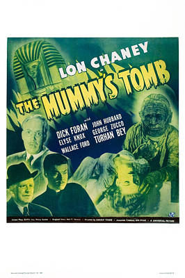 The Mummy's Tomb Art Print by MMG Archives