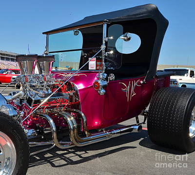 Photograph - The Munster's Hot Rod by Mark Spearman