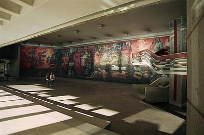 Photograph - The Mural by Thomas D McManus