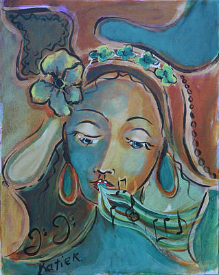 Painting - The Muse by Katie Ketchum