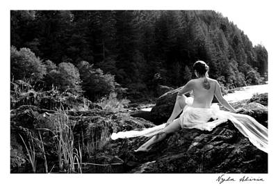 Pagan Nude Photograph - The Muse by Nyla Alisia