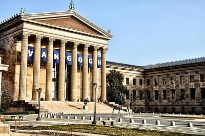 Museum Of Art Digital Art - The Museum Of Art In Philadelphia by Bill Cannon