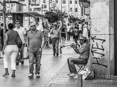 Photograph - The Music by Eugenio Moya