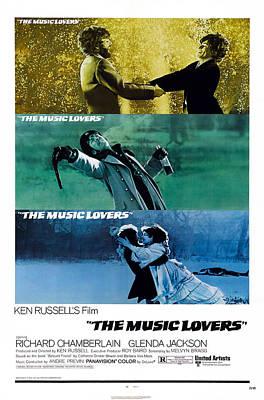 Glenda Photograph - The Music Lovers, Us Poster Art, Bottom by Everett