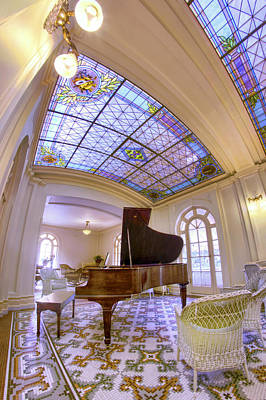Photograph - The Music Room At The Fordyce Bathhouse - Hot Springs - Arkansas by Jason Politte