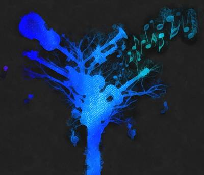 The Music Tree Art Print