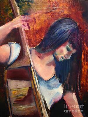 Painting - The Musician by Michael Kulick