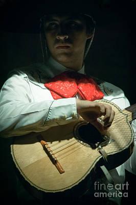 Chitarra Photograph - The Musician by Rossana Coviello